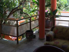 La Rana outdoor sitting area